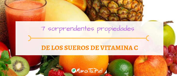 Beneficios sueros vitamina C